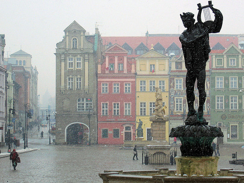 Wintery Poznan, Poland  (by BiLK_Thorn)
