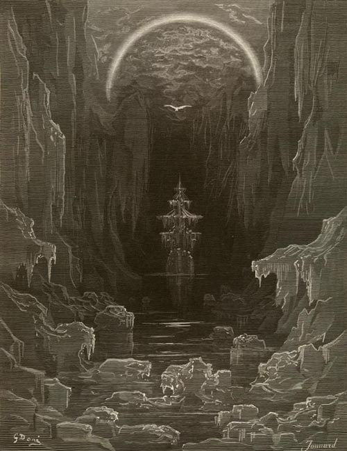 The Ice Was All Around by Gustave DoréIllustration from The Rime of the Ancient Mariner by Samuel Taylor Coleridge