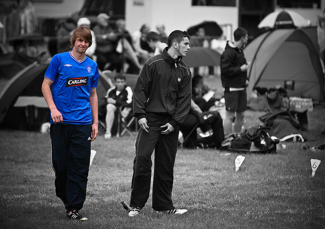 The Carling Boy on Flickr. Standing out from the crowd at Strathmore Games 2010Part of 2010 Strathmore Highland Games Gallery