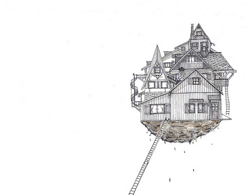 1000drawings:  Isolation Island (by E C L ▲ I R S)