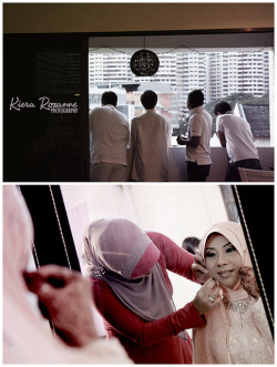 Trust me, the men will always be bored waiting.Preview: Wardah & JunizamPhotography by Kiera Roxanne