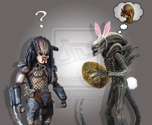 An Alien Easter by ~paulelder on deviantART