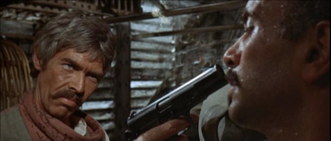"James Coburn playing a badass Irish expat demolitions expert in Sergio Leone's ""Duck, You Sucker!"""