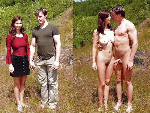 Visually Overloaded - nikkuk: Bizarre outdoor nude pair Why doesn't ...