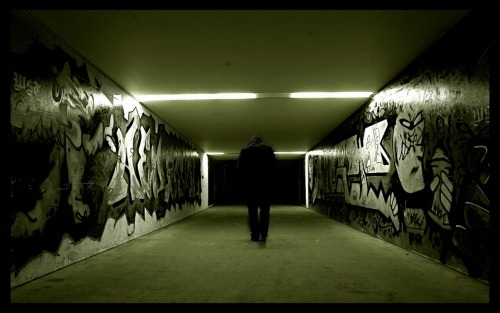 darktwistedblog:  Underground…away from the mainstream. Away from the media. Away from all the bullshit. Almost like a paradise.