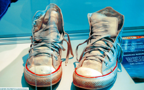 scottishbitch:  The Tenth Doctor's (David Tennant's) shoes.