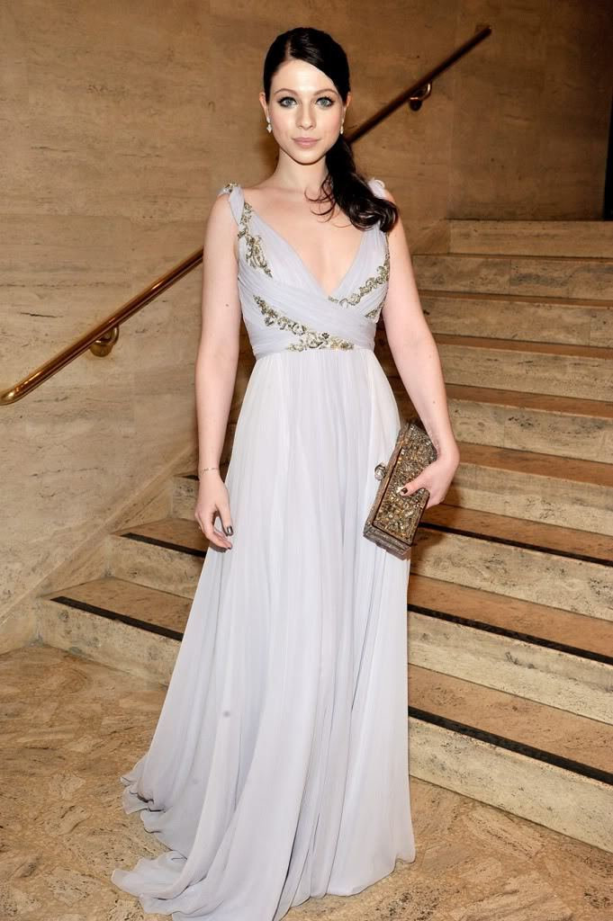 csebastian:  Michelle Trachtenberg in Marchesa at the 2011 School of American Ballet Winter Ball, New York City