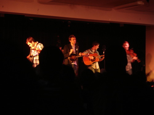 to continue Punch Brothers spam. From their show in Louisville in August 08.  this was literally in a cafeteria of a small church. bizarre. but amazing.