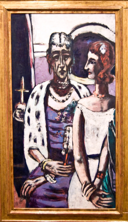 Max Beckmann: Mother & Daughter 1956, Art Gallery of NSW