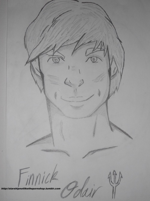This is what I always pictured Finnick looking like. I want him to have dimples real bad