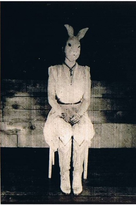 Who's been a good little bunny? #creepyisthenewsexy