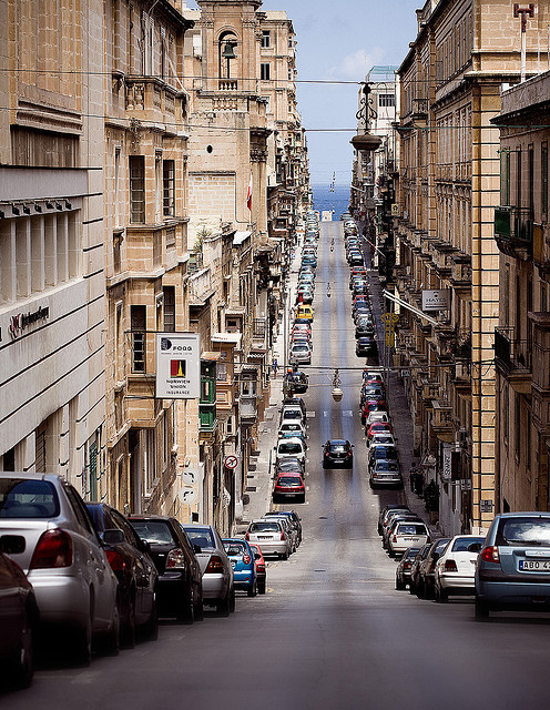 Valetta, Malta by newnowknowhow on Flickr.Via Flickr: The small streets of Valetta, Malta - the original city.