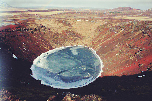 123 places to visit #123+: Kerið, Iceland