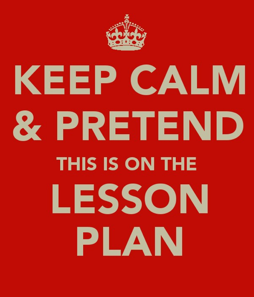 teacherfeature:  The 'keep calm' phrase has definitely been overexposed, but I couldn't help myself. Create your own at http://www.keepcalm-o-matic.co.uk/