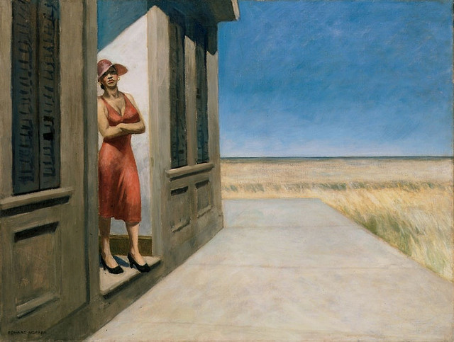 Edward Hopper, South Carolina Sunday Morning 1955