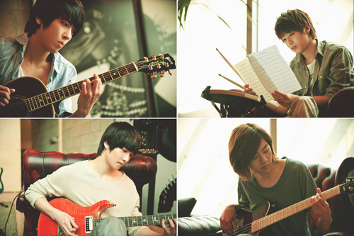 theburningjargon:  they're the musicians of my life….  JongShin :)