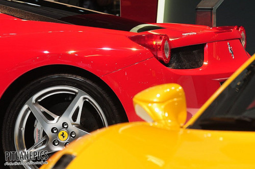 braininsideout:  IAA 2009 - Ferrari by sebastiansuk.de // pitlanepics.de on Flickr.