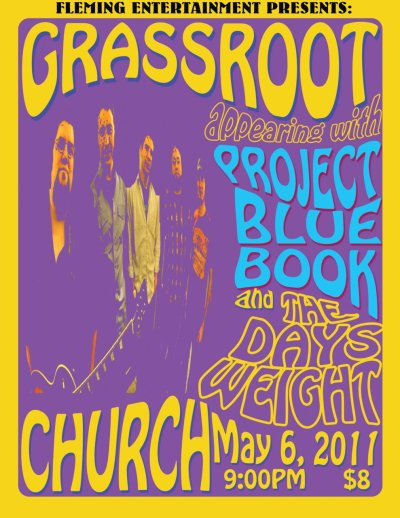 Come on down to Church on May 6th to check out some of Boston's best up and coming bands!