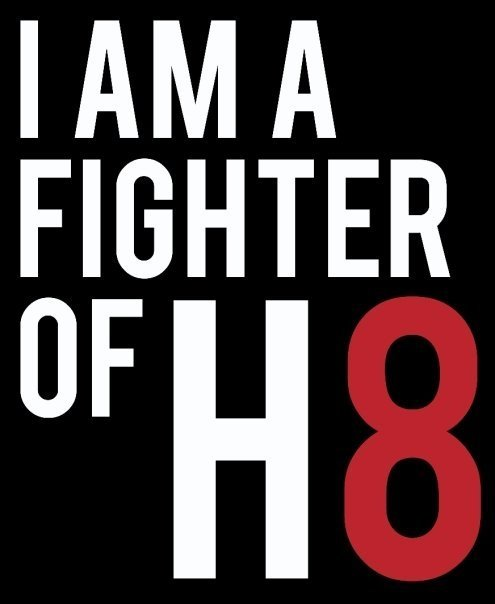 projectqueer:  Re-blog if you are a fighter of h8 too.