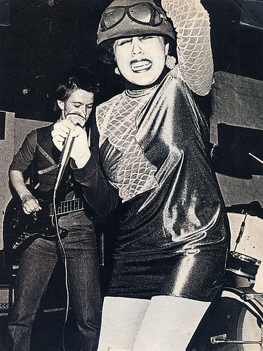 R.I.P. Poly Styrene The singer of X-Ray Spex lost the battle to breast cancer yesterday on April 25th, 2011.