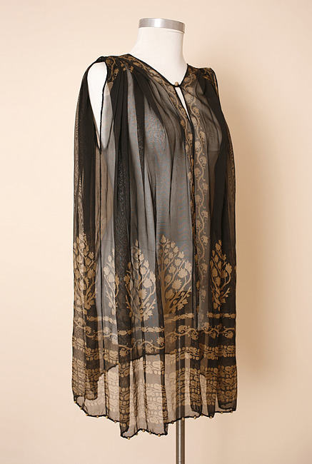 Fortuny tunic 1920s.