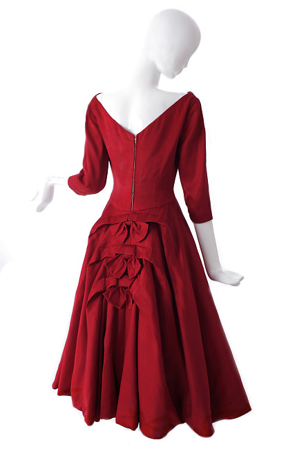 Jacques Heim dress, 1950s.