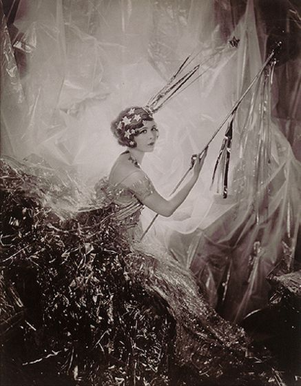 Nancy Beaton as a Shooting Star, Cecil Beaton, 1928.