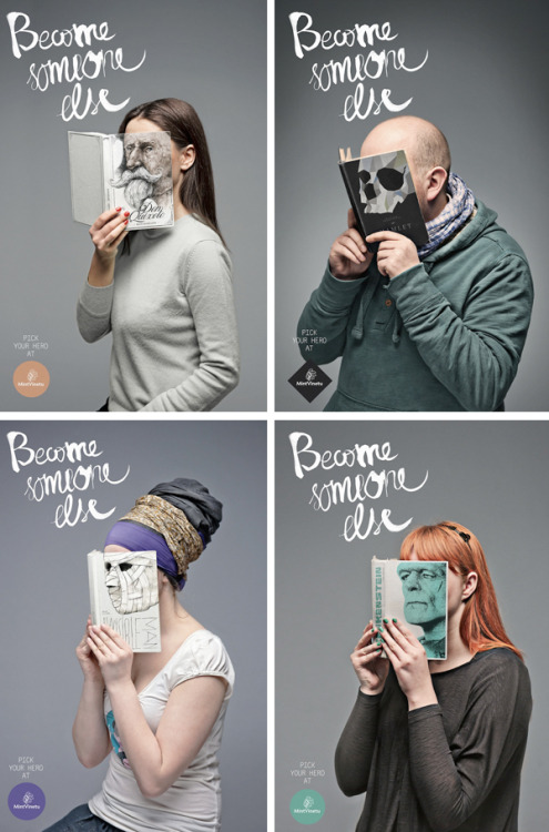"""Become Someone Else"" by a Lithuanian Agency called Love for Mint Vinetu. Like it. via"
