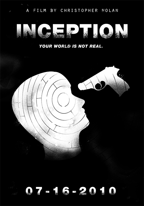Inception (2010)Christopher Nolan's Films in Black & White Poster Set ( 7 of 8 )Buy Print   |   By Edson Muzada