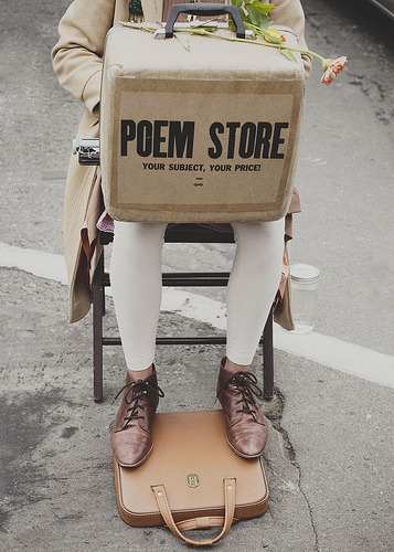 theskeletonofme:  POEM STORE (by (KatieMadeline))
