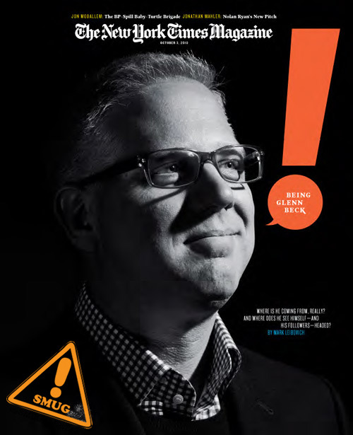 SMUG ALERT: Glen Beck is an Alien Hey, Glenn Beck—can't say we're sad to see your chalk-dust-laden, conspiracy-theory-factory reign on Fox News end.  We're not going to miss your doughy face, nor are we going to miss you smugly staring down the nose of your reading glasses while filling up chalkboards with more incongruent schemes of worldwide apocalypse than Russell Crowe in A Beautiful Mind.  Your insistence on using blackboards, abacuses and black and white TVs as a means to convey your delusional paranoia might be the only thing smugger than flaming the fears of uneducated masses of Americans for millions of dollars in personal wealth.