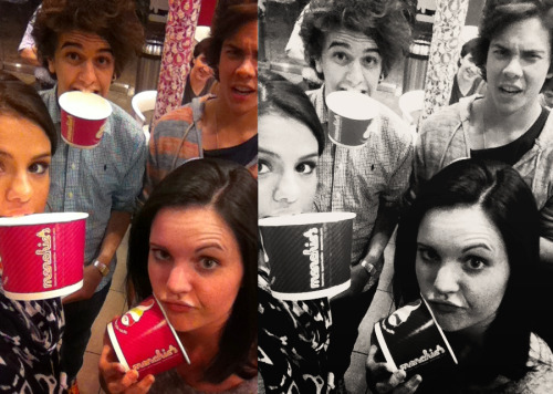 @selenagomez- Menchies to welcome @stefanabingdon to the states :P .. It's the year of The Beast. Yup