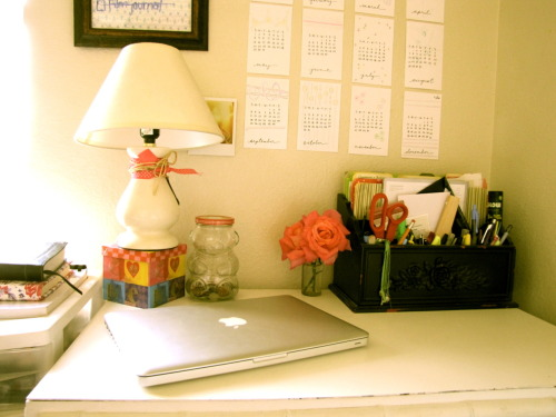 My desk is one of my favorite places.