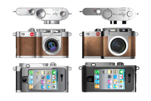novh:  (via BlackDA Leica i9 Concept Camera for iPhone 4 | Hypebeast)