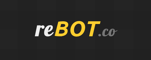reBOT.co Officially Branded.  After a bunch of help from all of you, we have come up with a name for the social networking robot game formally known as Die Robot Die. Many thanks to NurdSite for the winning suggestion. When it's released, we'll make sure to give you mad props within the game, and hook you up with elite powers like 'lightning bolt'.  After this post, we will be laying low for a while, focusing on the game. I don't believe it's healthy to ramble on about a non existent project, so the goal is 100% existence from here on out.