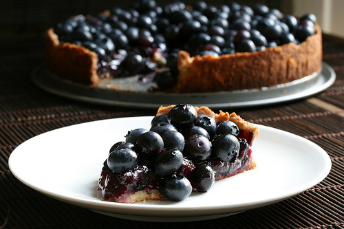 blueberry kuchen: recipe here
