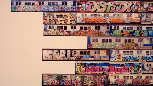 Train Pieces - From the Art in the Streets Exhibit -