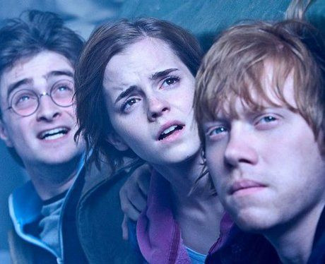 Sneak peak: Harry  potter and the deathly hallows part 2- Harry,hermione and Ron in hiding