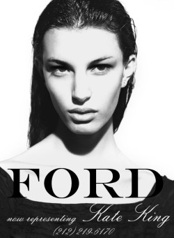Kate King is now represented by Ford.