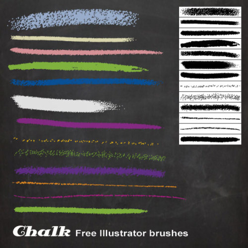 Huge compilation of 80 free illustrator brush sets  by Aquil Akhter