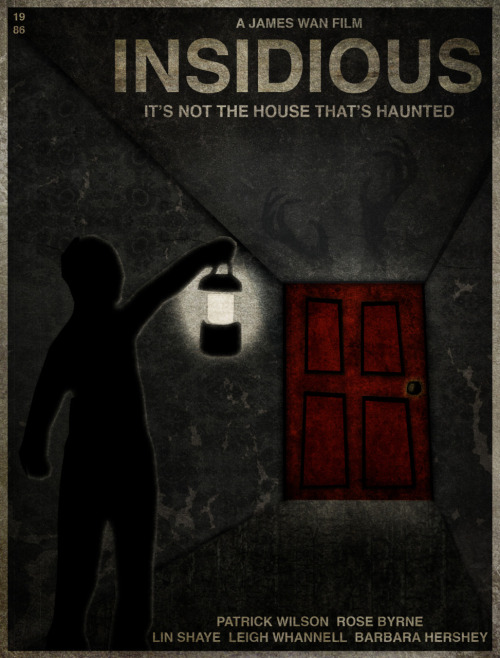 "Insidious Also shown on ""Fuckyeah, Movie Posters!"" (more specifically here)"