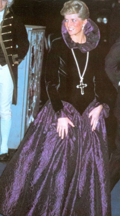 Reblogged from: spuffboy  Princess Diana in costume.