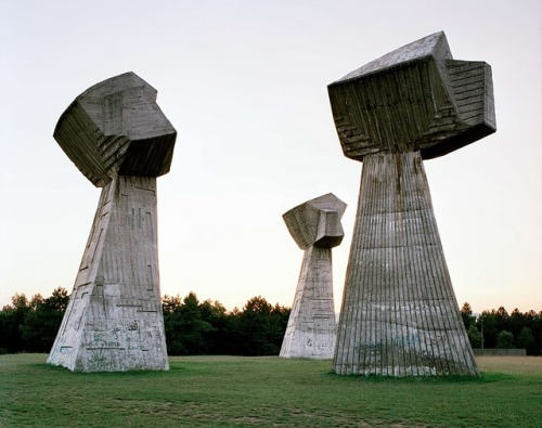 davemorin:  25 Abandoned Yugoslavia Monuments that look like they're from the Future