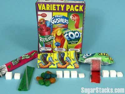 fruit fruit gushers variety variety pack fruit roll up roll up fruit by the foot