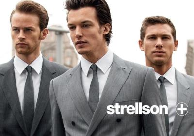 Michael Gandolfi, Adam Senn and Jamie Strachan for Strellson s/s 11