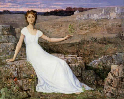 Pierre Puvis de Chavannes - Hope, c.1872
