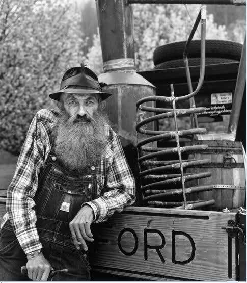"frontierjustice:  Moonshiner Marvin ""Popcorn"" Sutton."