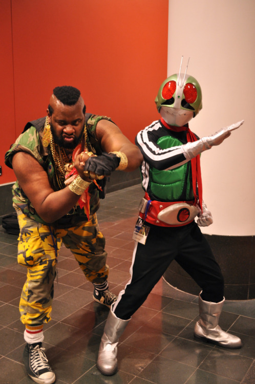 ippitsusoujoe:  Mr. T!!! This guy was awesome!! He was in perfect character as well I could not stop laughing!