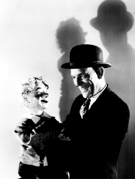 horrorking:  Lon Chaney starring in The Unholy Three (1930), a melodrama film with a focus on crime. The film is notable due because of it being Chaney's last, and his only talkie. He died from throat cancer two months after the release of the film.