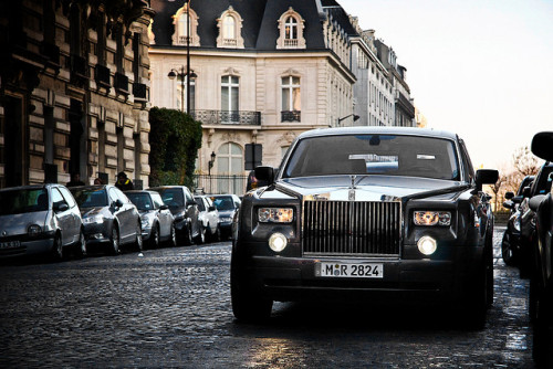 Rolls-Royce Phantom. Photo by Amaury Laparra.
